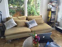 IKEA SODERHAMN Three seat sofa couch section Dark Yellow Northcote Darebin Area Preview