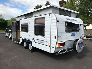 1995 Statesman Royale Poptop - TANDEM - Isl Double - Awning Warragul Baw Baw Area Preview