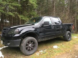 2008 Ford F-150 4.6L super crew after market rims