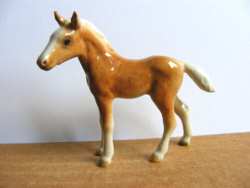 Northern Rose Retired Palomino Foal Miniature Animal Figurine Horse Pony