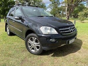 2006 Mercedes-benz Ml 350 (4x4) 7 Sp Automatic G-tronic 4d Wagon