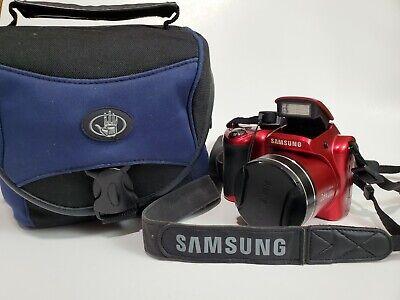 Samsung WB100 Digital Camera 16.2 MP Red