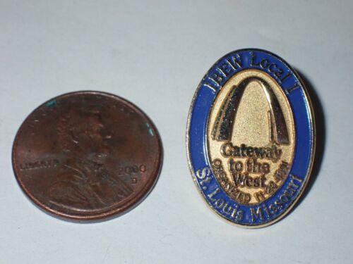 IBEW Collectible Lapel Pin Local 1 St. Louis Missouri