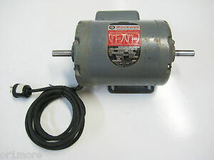 Rockwell Delta 1 Hp Dual Shaft 3450 Rpm Electric Motor
