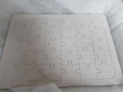 Blank Jigsaw Puzzles Decorate Your Own Jigsaws in Assorted Sizes and - Blank Puzzles