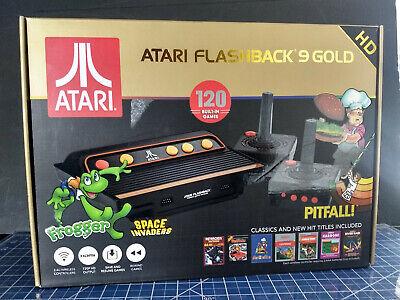 Atari Flashback 9 Gold HD Retro Microconsole 720p 120 Games Micro SD Slot Used