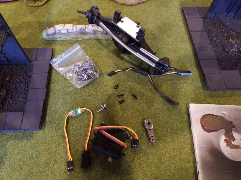 Redcat Everest Gen7 Four Wheel / Rear Steering Crawler 4WS complete kit w/ servo