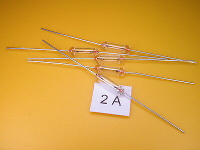 5 Stück -  Picofuse Sicherung ,2A 250V axial ,Schnell/Fast, Glaskolben