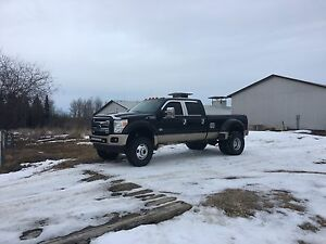 Lifted F-450 King Ranch Dually