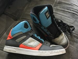 Youth Size 6 DC high top runners