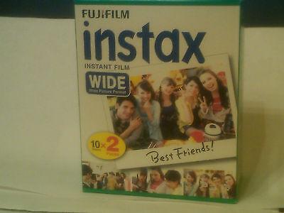 Fuji Instax 210/ 300 Instant Wide Color Print Film twin pk 20 shots Exp. 07/2018