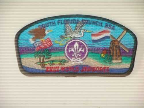 1995 world jamboree South Florida Council JSP