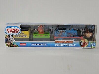 NEW Thomas & Friends Sodor Safari Monkey Thomas TrackMaster Set RARE!