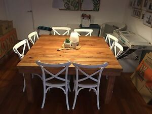 Recycled Oregon Timber Dining Table Newport Pittwater Area Preview