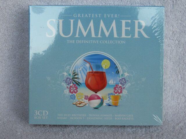 VARIOUS GREATEST EVER SUMMER 3 CD BOX SET - FREE UK P&P