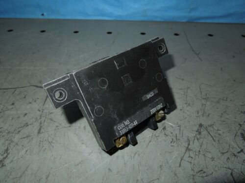 Square D 31063-409-44 SHCD 208V 60Hz Coil for Size 2 Starters/Contactors Used