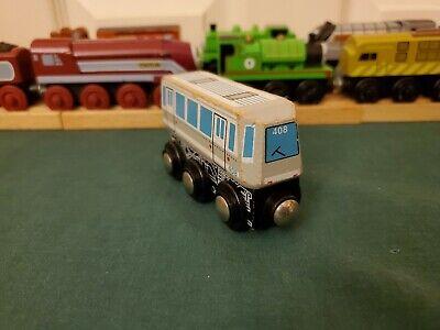 Toys R Us Imaginarium Wooden Gray Metro Train. WORKS WITH THOMAS VGUC