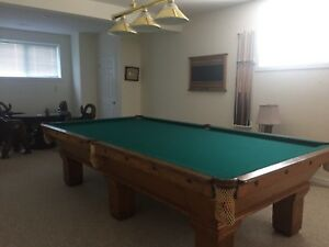 Vintage Pool Table Excellent Condition $1,800 obo