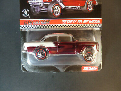 Hot Wheels 2016 RLC Club Member Car  PAINT ERROR!! Red '55 Chevy Bel Air Gasser