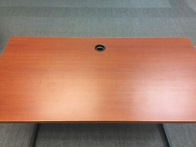 Office Desk Cherry -48 Interion Partition Furniture