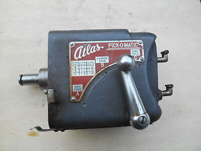Atlas 10 Lathe Pick-o-matic Gear Box