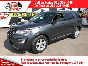 2016 Ford Explorer XLT, Navigation, Leather, Heated Seats, 4x4