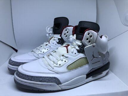 Nike Air Jordan white cement spizike