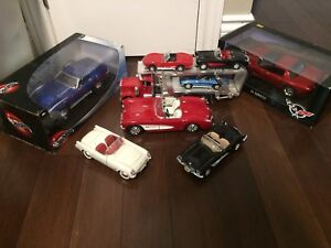 Die Cast Corvettes