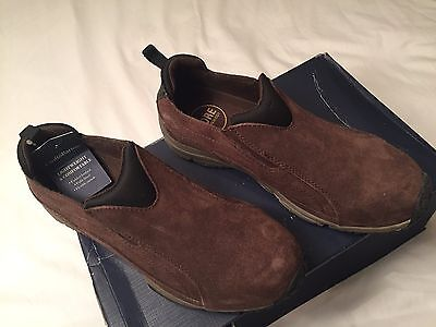 Croft & Barrow Beau Mens Fashion Casual Brown Slip-On Shoes CORE Technology