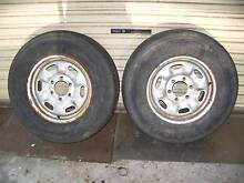 4WD WHEELS & TYRES [ TWO  ONLY ]  16 inch 245 x 70 Boolaroo Lake Macquarie Area Preview