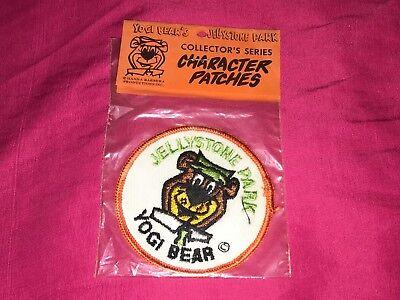 Vintage Hanna Barbera Yogi Bear Jellystone Park Character Patch Brand New