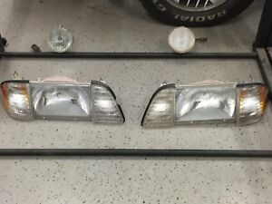 87-93 Mustang complete headlight kit (8 pc)