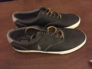 Polo men's leather shoe grey 11 NBW