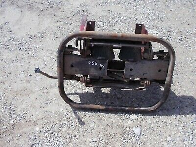 International Farmall 656 Rowcrop Tractor Deluxe Middle Seat Assembly