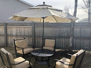 Patio furniture in good condition