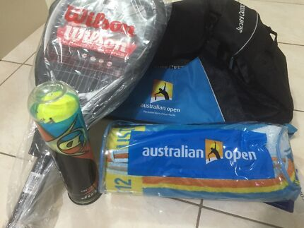 Brand new limited Australian open sport bag with Wilson racket  Epping Whittlesea Area Preview