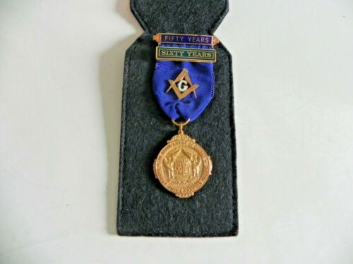 THE GRAND LODGE OF QUEBEC, ANCIENT FREE & ACCEPTED MASONS BADGE/RIBBON