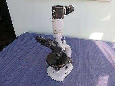 Carl Zeiss Einbau-trafo Trinocular Swivel Microscope 39 25 60-9004 2 Objectives
