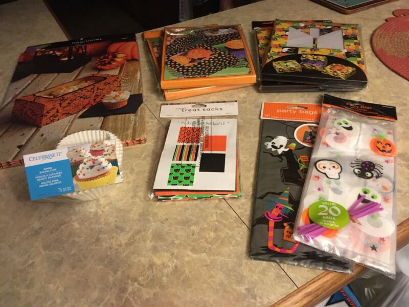 Halloween lot of NEW items