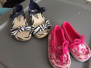 Toddler Sperrys! Size 4