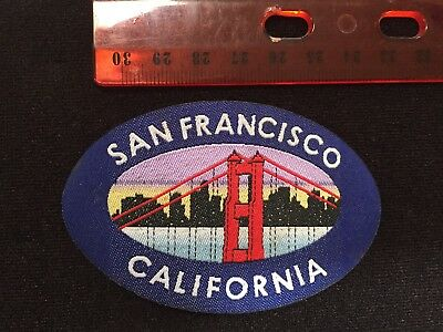 San Francisco Golden Gate Bridge  Logo Iron On Patch