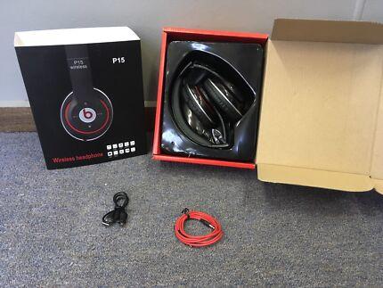 Black Wireless Studio Beats By Dr. Dre Headphones Replicas