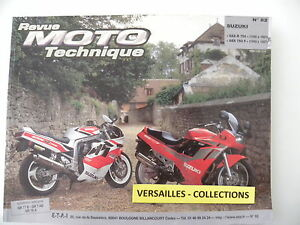 revue moto technique rmt n 82 suzuki gsx ebay. Black Bedroom Furniture Sets. Home Design Ideas
