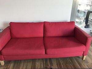 IKEA Fabric Sofa- Three seater and Almost NEW North Sydney North Sydney Area Preview