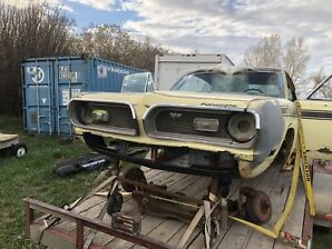 1969 plymouth barracuda fastback project
