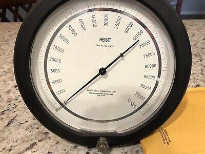 Heise 100000psi Pressure Gauge