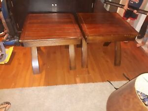 Big end tables for sale or trade