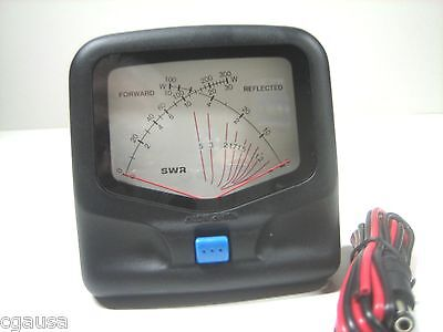 CROSS NEEDLE SWR/WATT METER/ 1.8-200 MHZ.  -
