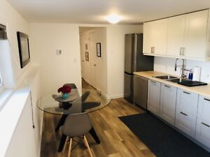 Furnished and renovated apartment- Central Halifax