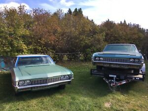 1968 impala caprice numbers matching 327/AC/auto US project car